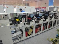 High Performance Rotary Labels Printing Machine
