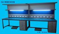 Esd Work Station With Illumination