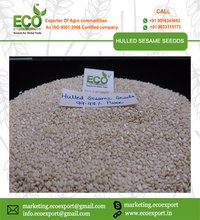 Hulled White Sesame Seeds