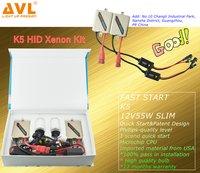 AVL High Level HID Xenon Kit with K5 Fast Start Ballast