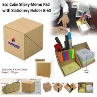 Eco Cube Sticky Memo Pad
