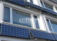 Adjustable Solar Panel Wall Mounting System