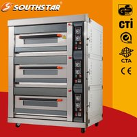 Commercial 3 Deck Gas Oven