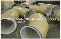 Wear Resistant Ceramic Lined Pipe And Elbow