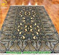 6x9ft Handmade Oriental Silk Carpet