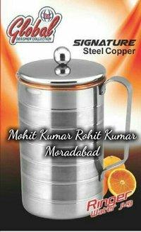 Global Steel Copper Water Jug