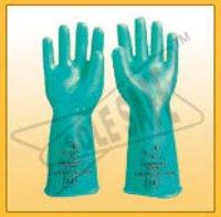Abrasion Resistance Nitrile Hand Gloves