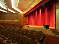 Motorized Stage Curtains And Frills