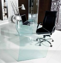 Bend Glass Table