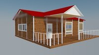 One Layer Pre-Made Mobile Vacation House