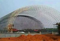 Large Span Limestone Shed For Power And Cement Plant