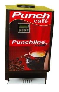 Punchline Three Lane Instant Coffee Making Machine