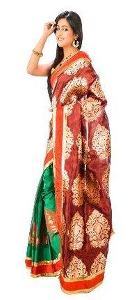f6206c46dfc Banarasi Chanderi Silk Saree in Delhi
