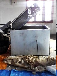 Electrical Fryer For Potato Chips And Namkeen