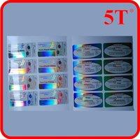 Holographic Medicine Label