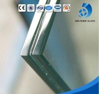 Tempered Safety 6.38mm-42.28mm Clear Or Colored Laminated Glass