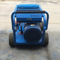 Gasoline Engine 180 bar Small Volume Sewer Drain Cleaning Equipment