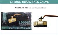 Leeron Brass Ball Valve in Chandigarh