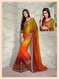 Ladies Designer Chiffon Saree