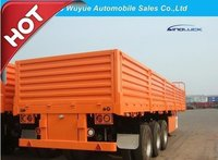 3 Axle 12.5m Cargo Semitrailer or Utility Semi Truck Trailer