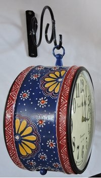 Decorative Hand Painted Station Clocks