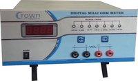 Electrical Digital Milli Ohm Meters