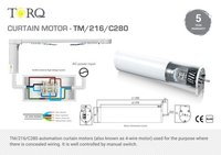Curtain Motors (4 Wire)