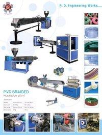 PVC Nylon Braided Hose Pipe Making Plant