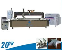 Onejet Five Axis Watejet Machine For Marble Pattern