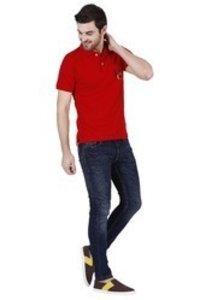 Men'S Branded V Neck T Shirt