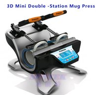 Mini Double-Station Mug Heat Press Transfer Printing Machine