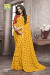 Ladies Party Wear Georgette Sarees