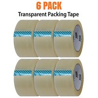 Packing Tape - Transparent - 6 Pack - 60 Metre