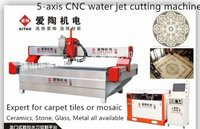 5 Axis Cnc Water Jet Cutting Machines
