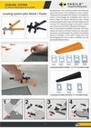 Tile Leveling System Wedges And Clip