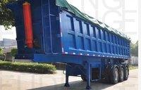 3 Axle 65 Tons Rear Semi Dump Trailer Tipper