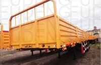 Heavy Duty Side Wall Cargo 50 Tons Sidewall Semi Trailer