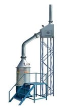 Fuel Free Waste Incinerator With Scrubber System