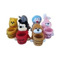Soft Toy With Pen Stand