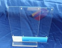 Plexiglass Pmma Acrylic Acrylic Sign Holders With Magnets