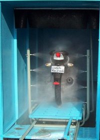 Auto Washing System For Two Wheeler