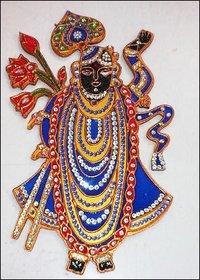 Shrinath Ji Cut Out Paintings
