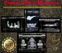 Customized Crystal Cube Gifts