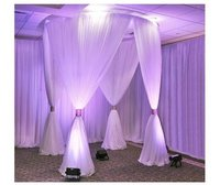 Luxury Round Lawn Wedding Tent For Ceremony