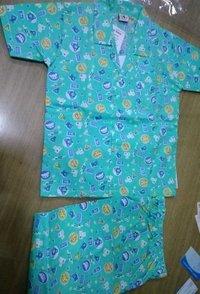 Cotton Kids Night Suit
