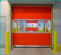 Pvc Fabric High Speed Fast Rapid Rolling Shutter Door