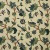 Tambakoo Handmade Wool Embroidered Vintage Cotton Crewel Fabric