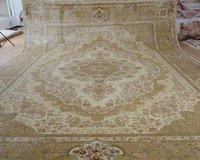 14.3'X20.3' Oversize Handmade Pure Silk Persian Rugs