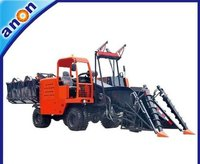 Tractor Mounted Small Whole Stalk Sugarcane Harvester Machine