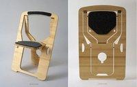 Modular Wooden Folding Chair